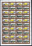 DDR Mi 2299 -2302 Postfrisch/neuf Sans Charniere /MNH/** In Complete Sheet 1978 - Blocks & Kleinbögen