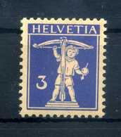 1930 SVIZZERA N.241 * Carta Goffrata - Svizzera