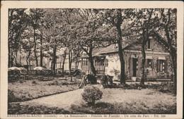 CPA Andernos-les-Bains La Renaissance Pension De Familie 1927 - France
