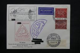 ALLEMAGNE - Enveloppe Par Planeur De Mainz En 1960 - L 28431 - Briefe U. Dokumente