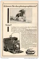 Original-Werbung/Inserat/ Anzeige 1928 - 1/1-SEITE - IHAGEE KAMERAWERK DRESDEN- Ca. 220 X 145 Mm - Werbung