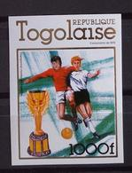 Togo. Soccer.Football. 1978 World Cup. Stamp. Imperf. MNH ** - 1978 – Argentine