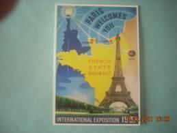 CLOUET  10954  PARIS TOUR EIFFEL EXPOSITION 1937 - Buildings & Architecture