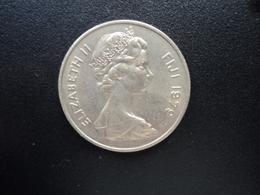FIDJI : 20 CENTS   1979   KM 31     SUP+ - Figi