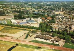 """(14) - CAEN - Vue Aérienne Sur La """" Prairie """" Au Premier Plan, Les Installations De L'Hippodrome - Caen"""