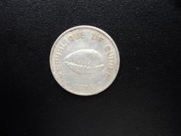 RÉPUBLIQUE DE GUINÉE : 50 CAURIS  1971   KM 42     TTB+ - Guinée