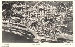 POSTAL   -SITGES  -BARCELONA  - VISTA GENERAL - España