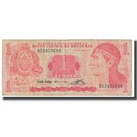 Billet, Honduras, 1 Lempira, 1992, 1992-09-10, KM:71, TB - Honduras