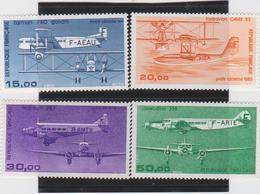 FRANCE 4 T Neufs Xx  Poste Aérienne N°YT PA 57 à 60 - 1984 à 1987 - Airmail