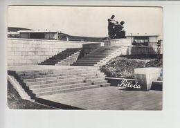 Bileca, Used Postcard (bo400) Spomenik Monument - Bosnien-Herzegowina