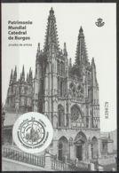 Spain 2012. Cat. Burgos - Prueba Oficial 107 (**) - Blocs & Hojas