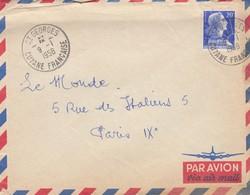 LETTRE FRANCE GUYANE ST GEORGES - 1921-1960: Modern Period