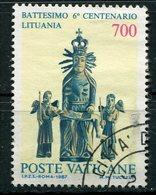 Vaticano - 1987 - Battesimo Della Lituania, 700 Lire - Vaticano (Ciudad Del)