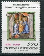 Vaticano - 1989 - Visitazione ** - Vaticano (Ciudad Del)