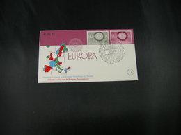 "BELG.1960  1150/51 FDC (Bruxs)  :  "" Europa 1960 "" - FDC"
