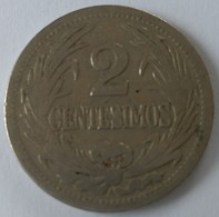 URUGUAY - 2 Centesimos 1909 - - Uruguay