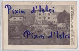 Lovrana - Istria - 1914. - Wiener Pension - Croatia