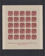 Deutsches Reich. 4 Steckkarten Lokalausgaben Sudetenland-Überdrucke 1938 - Occupation 1938-45