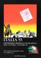 [MD3199] CPM - ROMA - ITALIA 1985 - ESPOSIZIONE MONDIALE DI FILATELIA - Non Viaggiata - Esposizioni