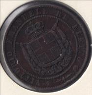 ITALIA Toscana 5 CENTESIMI 1859 Vittorio Emanuele Re Eletto - Monnaies Régionales