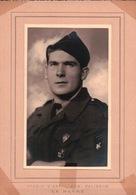 PHOTO E.D.G. PALISSON LE HAVRE 76 Jeune Militaire Pucelles Sur L'Uniforme - Uniformes