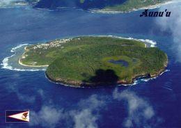 1 AK American Samoa * Ansicht Der Aunu'u - Luftbildaufnahme - Die Insel Gehört Zu Amerikanisch-Samoa * - American Samoa