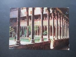 AK Werbepostkarte 1959 Maggi Fridolin Palma De Mallorca Claustro De San Francisco - Publicité