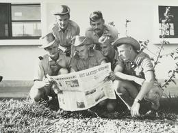 PARA - COMMANDOS DE LA BELGIQUE À LÉOPOLDVILLE CONGO BELGE COLONIE BELGIQUE À QUELQUES MOIS DE L INDÉPENDANCE 5 PHOTOS - Guerre, Militaire