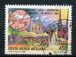Vaticano - 1988 - Posta Aerea (o) - Vaticano (Ciudad Del)