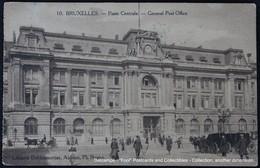 Bruxelles Brussel Brussels Poste Centrale General Post-office - Poste & Facteurs