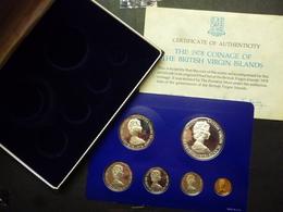VIRGIN ISLANDS 1978 PROOF SET    NIEUW - NEUF - NEW ------------D1 - Münzen