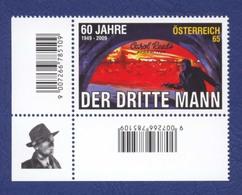 """AUTRICHE Film """"Le Troisième Homme""""; Der Dritte Mann. Neuf**. 2009. Acteur Joseph Cotten. - Cinéma"""
