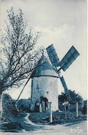 Cpa Moulin à Vent D'aigrefeuille D'aunis, Moulin Du Péré, Charente Maritime - Moulins à Vent