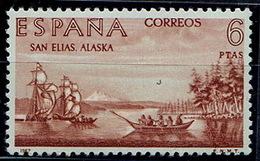 Spain 1967 Builders Of The New World Alaska - 1961-70 Storia Postale
