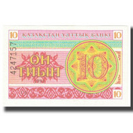 Billet, Kazakhstan, 10 Tyin, KM:4, NEUF - Kazakhstan