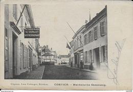 KONTICH ..-- MECHELSCHE STEENWEG . 1912 Vers JEMELLE ( Soeur Eugène ) . Voir Verso . - Kontich