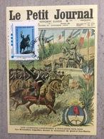Carte Postale / Timbreamoi San Martin / Centenaire De L'inauguration De Sa Statue / Bleu/ Argentine - Célébrités