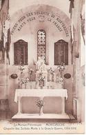 MONTSAUCHE  ( 58 ) - Chapelle Des Soldats  Morts à La Grand Guerre - Montsauche Les Settons