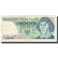 Billet, Pologne, 1000 Zlotych, 1982, 1982-06-01, KM:146b, TTB - Pologne
