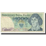 Billet, Pologne, 1000 Zlotych, 1982, 1982-06-01, KM:146b, TB - Pologne