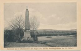 St Hubert - Fosse Commune Et Monument Régiment D'infanterie N°28 Du Rhin - Saint-Hubert