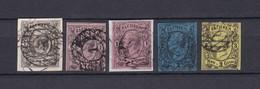 Sachsen - 1855/63 - Michel Nr. 8/11 - 83 Euro - Saxony