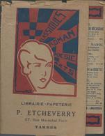 Protège Livre - Pub  Librairie P Etcheverry à Tarbes - Book Covers