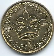 Denmark - Margrethe II - 20 Kroner - 1995 - 1000th Year Of Danish Coinage - KM879 - Denmark