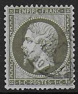 Napoléon   N° 19 - Cote : 50 € - 1862 Napoléon III