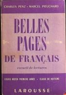 LIVRE SPECIMEN - BELLES PAGES De FRANCAIS RECUEIL De LECTURE - LAROUSSE - Daté 1956 - En TBE - Livres, BD, Revues