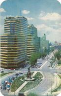 W2768 Mexico City D.F. - Glorieta A Cristobal Colon Y Paseo De La Reforma - Nice Stamps Francobolli / Viaggiata 1963 - Messico