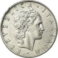 Italie, 50 Lire, 1974, TTB, Stainless Steel, KM:95.1 - Italie