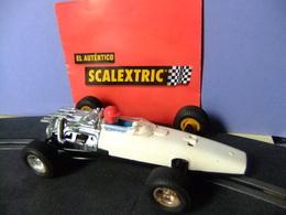 SCALEXTRIC EXIN HONDA F1 Blanco / Negro Ref. C 36 Todo Original Made In Spain - Circuitos Automóviles