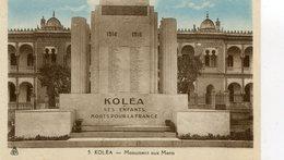 KOLEA  MONUMENT AUX MORTS - Algeria